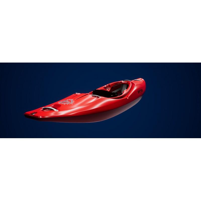 Kayak queen of hearts, Spade kayak