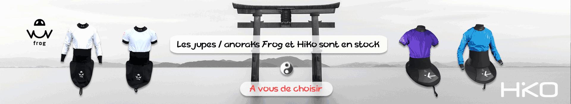 Jupes anoraks Frog & Hiko - A vous de choisir