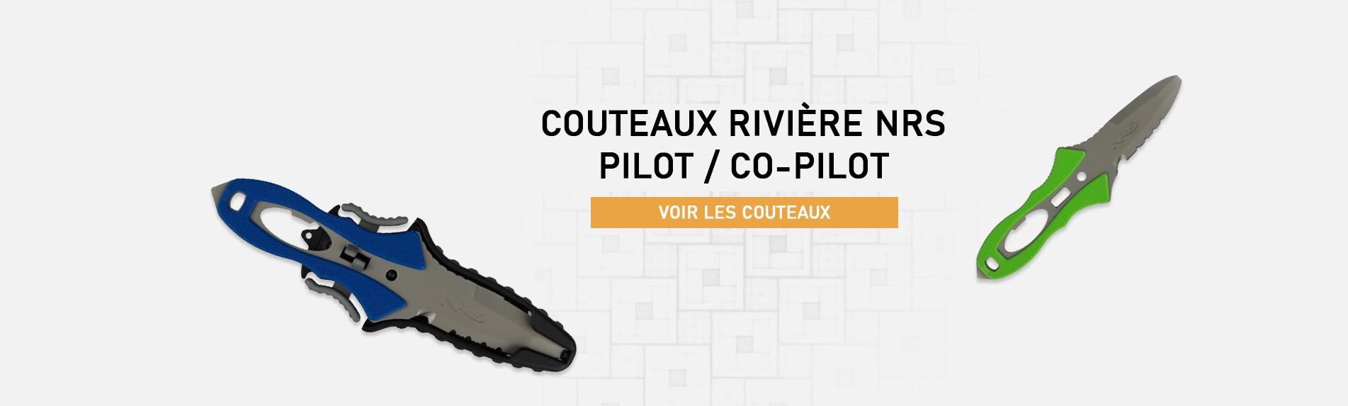 Couteaux NRS - Pilot & Co-pilot